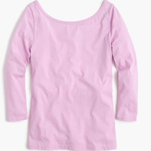 J.crew ScoopBack Ballet T-Shirt, NWT, Size Small